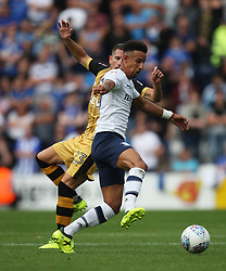 Callum Robinson of Preston North End in action (R) - Mandatory by-line: Jack Phillips/JMP - 05/08/2017 - FOOTBALL - Deepdale - Preston, England - Preston North End v Sheffield Wednesday - English Football League Championship