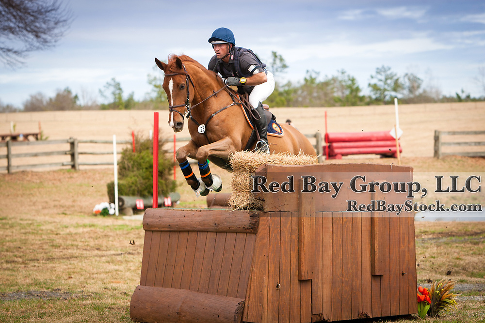 Michael Pollard and Ballingowan Pizazz at the 2014 Pine Top Farm Advanced Horse Trials in Thomson, Georgia.
