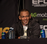 JOHANNESBURG, SOUTH AFRICA - MAY 13: Abdul Hassan during EFC 49 Fight Night at the Big Top Arena, Carnival City, Johannesburg, South Africa on May 13, 2016. (Photo by Anton Geyser/ EFC Worldwide)