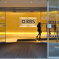 London Jan 19 Troubled UK Bank RBS Royal Bank of Scotland shares have plunged 63% after the bank said it was heading for a record loss....Standard Rates Apply.XianPix Pictures  Agency  tel +44 (0) 845 050 6211 e-mail sales@xianpix.com www.xianpix.com