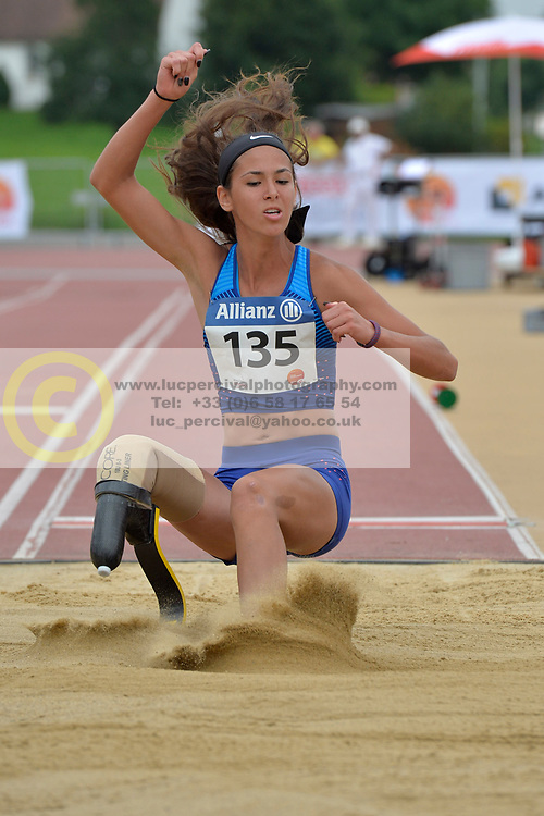04/08/2017; Hatz, Beatriz, F44, USA at 2017 World Para Athletics Junior Championships, Nottwil, Switzerland