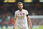 Juan Mata (8) of Manchester United during the Premier League match between Bournemouth and Manchester United at the Vitality Stadium, Bournemouth, England on 3 November 2018.