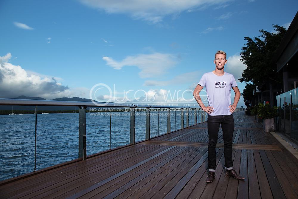 Tim Van Berkel (AUS), June 5, 2014 - TRIATHLON : SCODY ATHLETES / Cairns Airport Adventure Festival, Caffiend and Harbour, Cairns, Queensland, Australia. Credit: Lucas Wroe