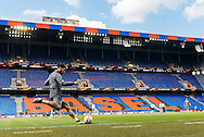 Emre Can pictured during Liverpool training ahead of the Europa League Final at St. Jakob-Park, Basel<br /> Picture by EXPA Pictures/Focus Images Ltd 07814482222<br /> 17/05/2016<br /> ***UK &amp; IRELAND ONLY***<br /> EXPA-FEI-160517-0101.jpg