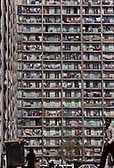 France. Marseille. The entrance of low income housing rue Felix pyat  Marseille  France    /l entrèe des Hlm rue Félix Pyat  Marseille  France  /R00015/44    L2833  /  P0004048