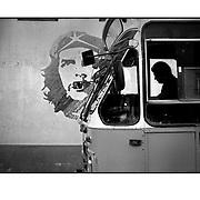 """Autor de la Obra: Aaron Sosa<br /> Título: """"Serie: Walker Havana - Caminante Habana""""<br /> Lugar: La Habana - Cuba<br /> Año de Creación: 2007<br /> Técnica: Captura digital en RAW impresa en papel 100% algodón Ilford Galeríe Prestige Silk 310gsm<br /> Medidas de la fotografía: 33,3 x 22,3 cms<br /> Medidas del soporte: 45 x 35 cms<br /> Observaciones: Cada obra esta debidamente firmada e identificada con """"grafito – material libre de acidez"""" en la parte posterior. Tanto en la fotografía como en el soporte. La fotografía se fijó al cartón con esquineros libres de ácido para así evitar usar algún pegamento contaminante.<br /> <br /> Precio: Consultar<br /> Envios a nivel nacional  e internacional."""
