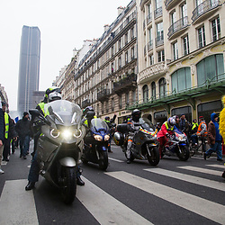 2019/01 Gilets Jaunes Paris Acte 10