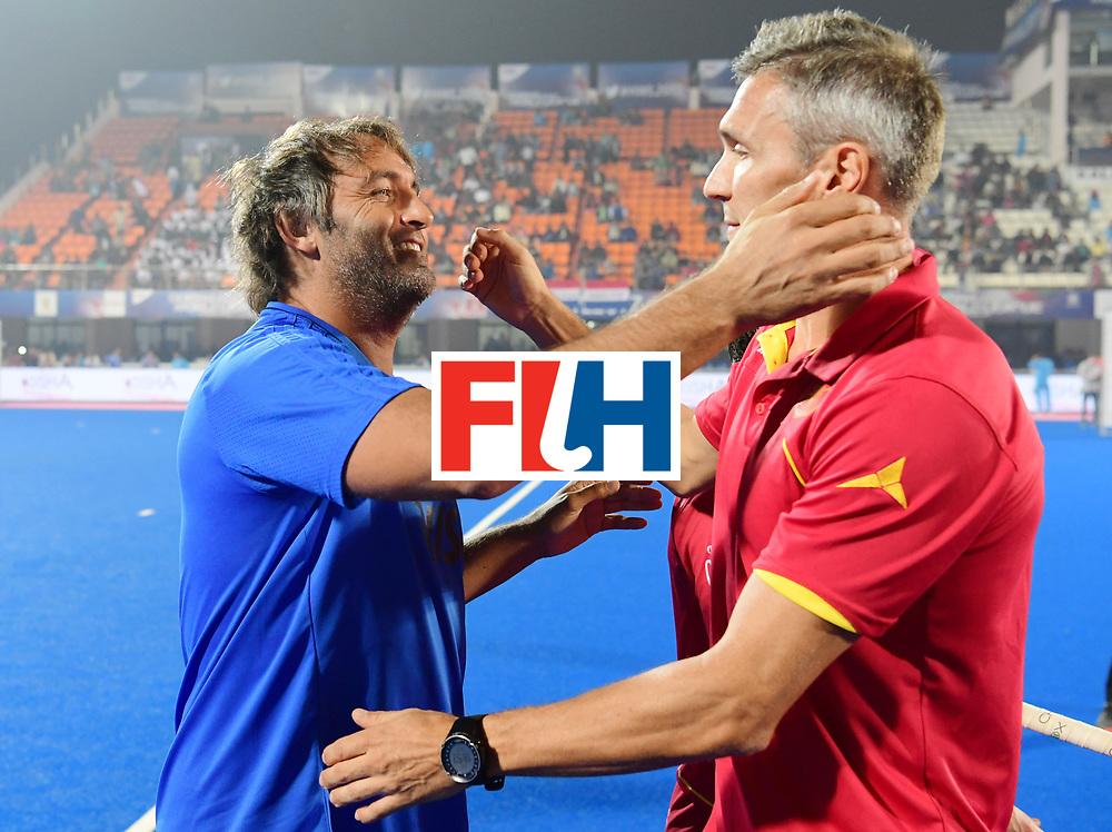 Odisha Men's Hockey World League Final Bhubaneswar 2017<br /> Match id:11<br /> Argentina v Spain<br /> Foto: coach Carlos Retegui (Arg) <br /> COPYRIGHT WORLDSPORTPICS FRANK UIJLENBROEK
