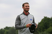 Chris Wood after the 18th hole during the BMW PGA Championship at Wentworth Club, Virginia Water, United Kingdom on 29 May 2016. Photo by Phil Duncan.