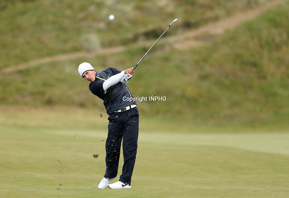 2015 Dubai Duty Free Irish Open Day 1, Royal County Down Golf Club, Co. Down 28/5/2015 <br /> Thorbjorn Olesen<br /> Mandatory Credit &copy;INPHO/Presseye/Matt Makey