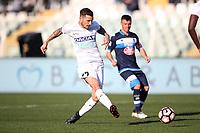 """Il gol del 3-0 di Cyril Thereau Udinese<br /> Goal Celebration Udinese<br /> Pescara 12-03-2017  Stadio """"Adriatico Giuseppe Cornacchia""""<br /> Campionato Serie A 2016/2017<br /> Pescara - Udinese<br /> Foto Luca Pagliaricci / Insidefoto"""
