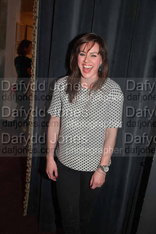 JILL HALFPENNY, The press night performance of the Menier Chocolate Factory's 'Merrily We Roll Along', following its transfer to the Harold Pinter Theatre, After-show party at Grace Restaurant, Gt. Windmill St. London. 1 May 2013.