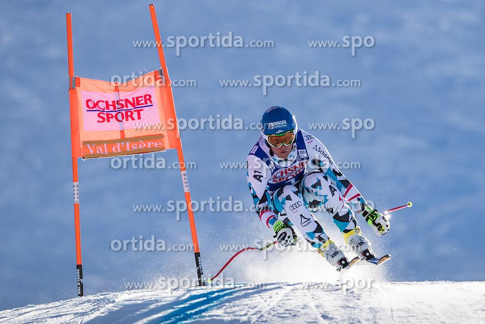 03.12.2016, Val d Isere, FRA, FIS Weltcup Ski Alpin, Val d Isere, Abfahrt, Herren, im Bild Romed Baumann (AUT) // Romed Baumann of Austria in action during the race of men's Downhill of the Val d'Isere FIS Ski Alpine World Cup. Val d'Isere, France on 2016/12/03. EXPA Pictures © 2016, PhotoCredit: EXPA/ Johann Groder