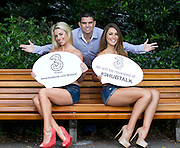 No Repro Fee..Three Launch their new Facebook App #3HUBTALK to celebrate 'All you can eat' data on Three Prepay.Pictured are top models Pippa O'Connor (left) and Roz Purcell with former world boxing champion, Bernard Dunne, as they came together to launch the Three 'Hub Talk' #3HUBTALK Facebook App where fans can WIN top prizes daily by sharing their pictures & videos with the celebs and each other. .A whole host of Irish personalities are involved in the data sharing competition app, others include ex-Mayo footballer and controversial Twitter lover, Conor Mortimer as well as the not-so-real but much loved @Marty_Morrissey .#3HUBTALK has been created to celebrate Three's current prepay campaign, centred around 'All You Can Eat' data sharing and the Samsung Galaxy Mini, now available from Three from just ?69..Pic: CPR....-ends-....For further information, please contact: ..Aoiffe Madden                                                          .WHPR                                                                 .01 6690030 / 087 941 0431...          .aoiffe.madden@ogilvy.com       ..Elisabeth Fitzpatrick.WHPR.01 6690030 / 086 609 2571.Elisabeth.fitzpatrick@ogilvy.com .