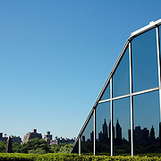 Rooftop Reflection at The Met