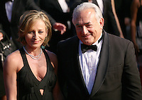 Myriam L'Aouffir and Dominique Strauss-Kahn at Only Lovers Left Alive gala screening at the Cannes Film Festival Saturday 26th May May 2013