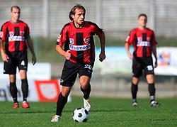 Dalibor Teinovic of Primorje  at 12th Round of PrvaLiga Telekom Slovenije between NK Primorje vs NK Nafta Lendava, on October 5, 2008, in Town stadium in Ajdovscina. Nafta won the match 2:1. (Photo by Vid Ponikvar / Sportal Images)