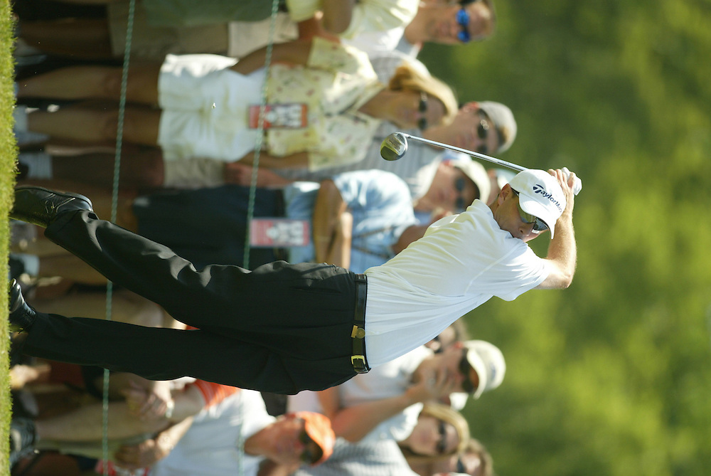 Ian Leggatt..2003 U.S. Open..Fourth Round..Olympia Fields CC..Chicago, IL..Sunday June 15 2003..photograph by Darren Carroll