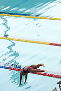 Belo Horizonte_MG, Brasil...Nadadora na eliminatoria mundial de natacao 2006. ..A swimmer in the World Swimming 2006...Foto: LEO DRUMOND / NITRO
