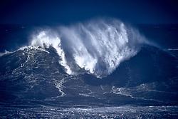 Nazare Portugal Atlantic Ocean Waves, November 2018