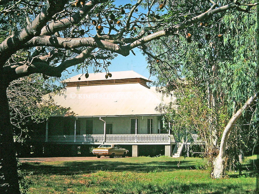 The Old Cable Station, now the Courthouse in Broome, circa 1980.