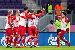 05.05.2019, Generali Arena, Wien, AUT, 1. FBL, FK Austria Wien vs FC Red Bull Salzburg, Meistergruppe, 29. Spieltag, im Bild Spieler und Trainer von Salzburg feiern den Meistertitel // players and coaches of Salzburg celebrate the championship title during the tipico Bundesliga master group 29th round match between FK Austria Wien and FC Red Bull Salzburg at the Generali Arena in Wien, Austria on 2019/05/05. EXPA Pictures © 2019, PhotoCredit: EXPA/ Florian Schroetter