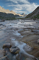 Upper Titcomb Basin Wind River Range Wyoming