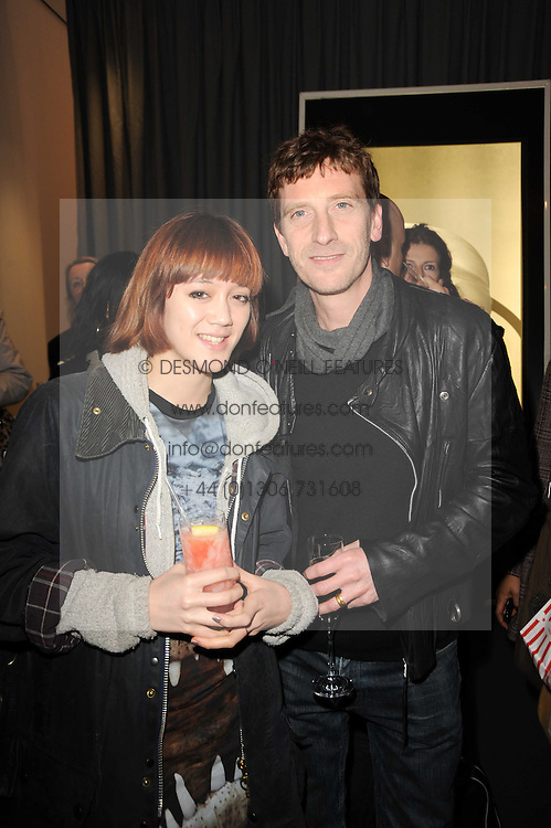 ANDREW HALE and his daughter ALICE HALE at the launch of La Tulipe by Byredo held in the Front Room, St.Martin's Lane, 45 St.Martin's Lane, London on 7th April 2010.