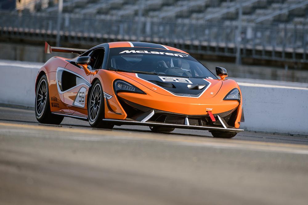 McLaren 570s GT4, Sonoma Raceway   Simraceway