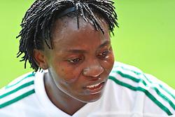 26.06.2011, Rhein-Neckar-Arena, Sinsheim, GER, FIFA Women's Worldcup 2011, GRUPPE A, NIGERIA (NGA) vs FRANKREICH (FRA) , im Bild Ebere ORJI (NGA #8,Rivers Angels)   // during the FIFA Women's Worldcup 2011, Pool A, Nigeria (NGA) vs France (FRA) on 2011/06/26, Rhein-Neckar-Arena, Sinsheim, Germany. EXPA Pictures © 2011, PhotoCredit: EXPA/ nph/  Roth       ****** out of GER / SWE / CRO  / BEL ******