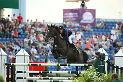 Weier Christian, (LUX), Global<br /> Team Competition round 1 and Individual Competition round 1<br /> FEI European Championships - Aachen 2015<br /> © Hippo Foto - Stefan Lafrentz<br /> 19/08/15