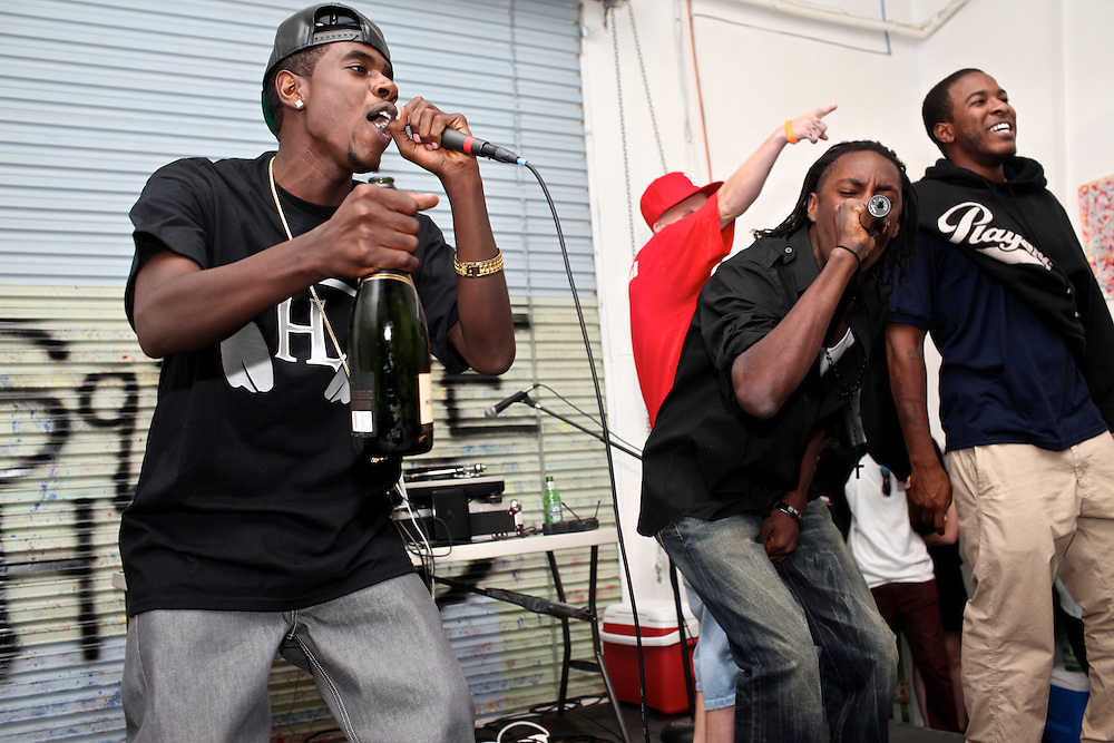 Hygher Level performs at Fear The Chausso 5 at Squarehead Venue in Naples. Squarehead is a new venue in the industrial area of Naples that promotes live music. This was a rare occasion for Fort Myers and Naples hip hop artists to come together for one show.