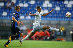 September 14, 2017 - Reggio Emilia, Italy - Dominic Calvert-Lewin of Everton  during the UEFA Europa League Group E football match Atalanta vs Everton at The Stadio Città del Tricolore in Reggio Emilia on September 14, 2017. (Credit Image: © Matteo Ciambelli/NurPhoto via ZUMA Press)