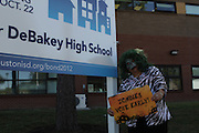 Vote Early Zombie at DeBakey High School