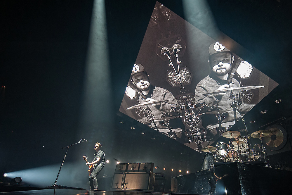 Royal Blood in concert at the SSE Hydro, Glasgow, Scotland, Britain 24th November 2017