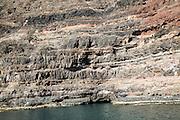 Rocky headland of Punta Fariones, Chinijo Archipelago, Orzola, Lanzarote, Canary Islands, Spain