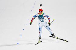 February 10, 2018 - Pyeongchang, SOUTH KOREA - 180210 Veronika Vitkova och Czech Republic  competes in Women's Biathlon 7,5 km Sprint during day one of the 2018 Winter Olympics on February 10, 2018 in Pyeongchang..Photo: Joel Marklund / BILDBYRN / kod JM / 87614 (Credit Image: © Joel Marklund/Bildbyran via ZUMA Press)