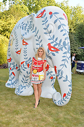 ASHLEY ROBERTS at the Quintessentially Foundation and Elephant Family 's 'Travels to My Elephant' Royal Rickshaw Auction presented by Selfridges and hosted by HRH The Prince of Wales and The Duchess of Cornwall held at Lancaster House, Cleveland Row, St.James's, London on 30th June 2015.
