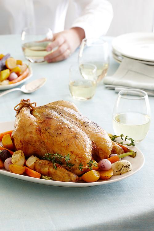 Comfort Food: Roast Chicken