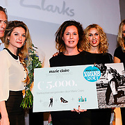 NLD/Amsterdam/20131014 -  Marie Claire Starters Award 2013, Jort Kelder, lauren verster, Winnares Sanne Tummers - Single&Stijl, Claudia Straatmans, Hanna Verboom