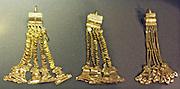 Ear pendants Gold.