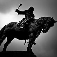 Equestrian statue of Jan Žižka of Trocnov - National Monument on Vítkov Hill.