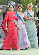 The Royal Wedding of Princess Madeleine of Sweden and Christopher O'Neill hosted by King Carl Gustaf and Queen Silvia at The Royal Palace in Stockholm, Sweden