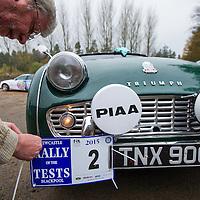 Car 02 Steve Robertson Julia Robertson Triumph TR3