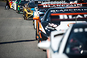 October 3-5, 2013. Lamborghini Super Trofeo - Virginia International Raceway. Grid for race 2.