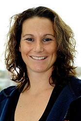 02-10-2009 VOLLEYBAL: EUROPEES KAMPIOENSCHAP FOTOSHOOT ORANJE: LODZ<br /> Monique Wismeijer<br /> ©2009-WWW.FOTOHOOGENDOORN.NL