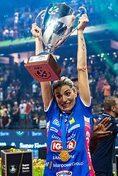 18-05-2019 GER: CEV CL Super Finals Igor Gorgonzola Novara - Imoco Volley Conegliano, Berlin<br /> Igor Gorgonzola Novara take women's title! Novara win 3-1 / Francesca Piccinini #12 of Igor Gorgonzola Novara