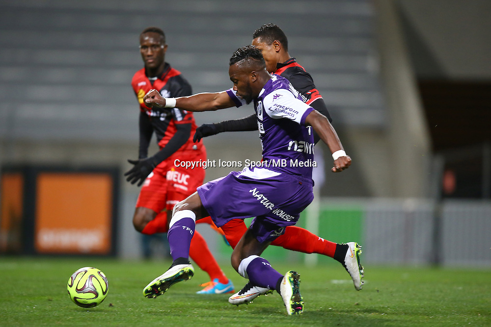 Goal Tongo Doumbia - 20.12.2014 - Toulouse / Guingamp - 17eme journee de Ligue 1 <br />Photo : Manuel Blondeau / Icon Sport