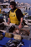 = Fish market on the old port   France     /// marche aux poissons sur le vieux port , +