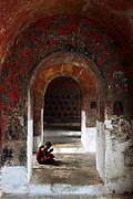 Shwe Yaunghwe Kyaung, teak wood monastery, Nyaungshwe, Inle Lake.